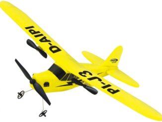 Radiostyrt flygplan för barn