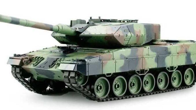 Bäst i test radiostyrd stridsvagn