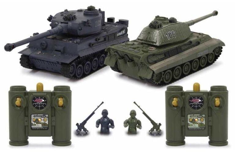 Radiostyrd stridsvagn 2 pack