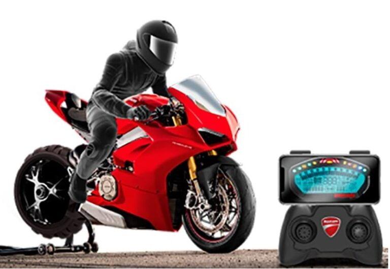 radiostyrd motorcykel gyro bäst i test
